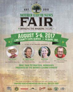Earth Fair Flyer