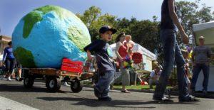 earth fair parade